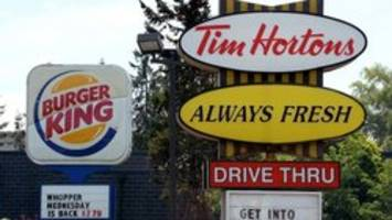 Burger King/Tim Hortons owner reports strong sales
