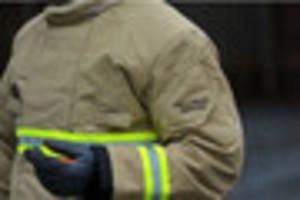 firefighters called to flat in hinckley after sofa