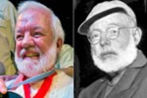 Man wins Hemingway look-alike contest on 15th attempt
