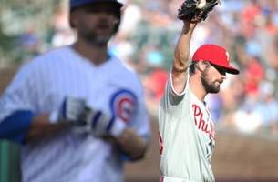 Cubs fans lobby for Cole Hamels trade after getting no-hit