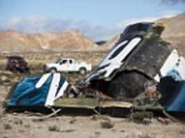 Virgin Galactic crash was caused by 'braking error': Co-pilot unlocked the craft's feathering system too early, report finds