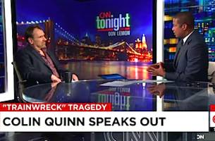 Colin Quinn Reacts to Trainwreck Shooting: 'Everybody in This Country Is So Dumb'
