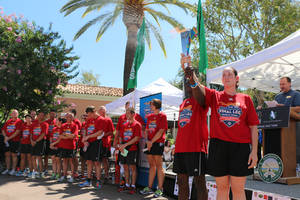 Calabasas Rolls out the Red Carpet for 2015 Special Olympics World Games Athletes