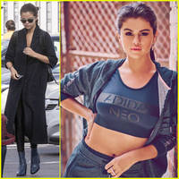 Selena Gomez Bares Some Midriff for adidas NEO Label's Fall 2015 Campaign