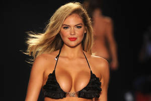 The butt stops here: Kate Upton shows off her booty