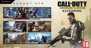 Reckoning Is the Final Call of Duty: Advanced Warfare DLC, Launches on August 4