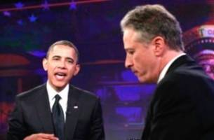 Jon Stewart Reduced to Stenographer After White House Meetings Revealed