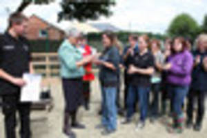 St James City Farm receives Queen's Award for Voluntary Service