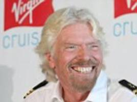 richard branson claims he is successful and rich because he is happy - not the other way around and offers advice for others