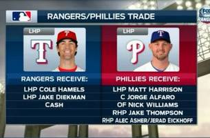 Rangers Live: Breaking Down the Cole Hamels Trade