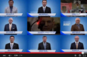 Mashup video shows Conservative MPs saying identical phrases