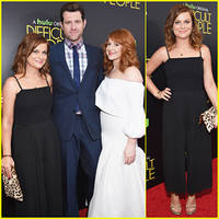 Amy Poehler Brings 'Difficult People' To New York Premiere - Watch First Trailer Here!
