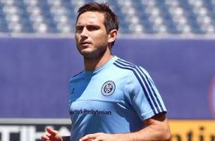 Lampard targets MLS playoffs after New York City FC debut