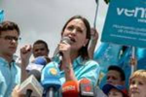 Venezuela opposition figure Machado barred from vote
