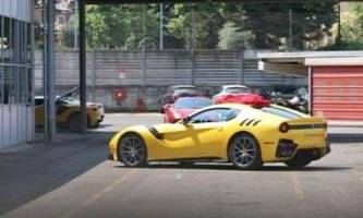 Ferrari F12 Speciale / GTO Photographed for the First Time Without Camo, Shows Radical Design