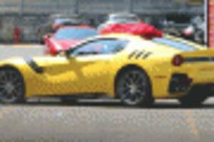 Hardcore Ferrari F12 Spied, May Carry GTO Title