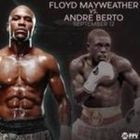 Floyd Mayweather offically names Andre Berto for Sept. 12 fight
