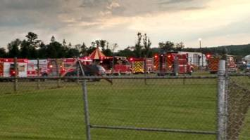 2 dead, 15 hurt in New Hampshire circus tent collapse