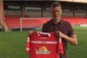 crewe alexandra: big ben nugent first of two defensive additions
