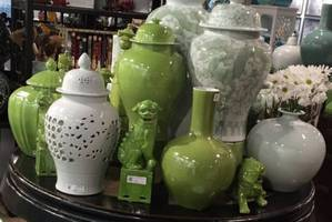 Las Vegas Furniture Market shows off green and gold