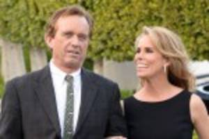 friends of rfk jr. think cheryl hines was 'crazy' to marry him