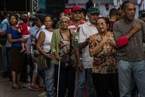 Venezuela's governing socialist alliance sees support fall below one in five