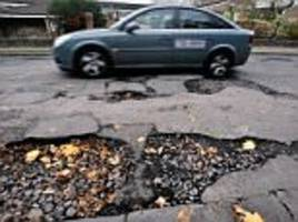 Google's war on potholes as it patents technology for smoother rides