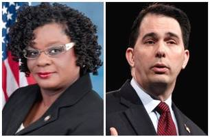 Gwen Moore Will Not Apologize to Scott Walker for 'Noose' Remarks