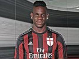 Mario Balotelli blames Liverpool nightmare on Brendan Rodgers' tactics as AC Milan confirm loan deal for controversial striker