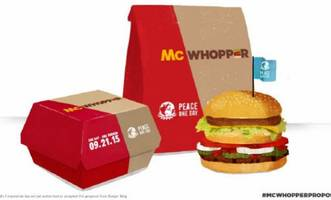 McDonald's snubs Burger King's proposal to create a 'McWhopper' for peace