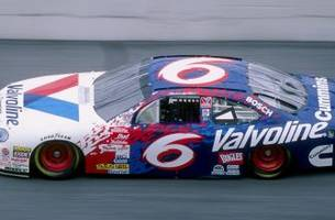 mark martin fans are going to love this throwback scheme