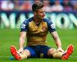 TEAM NEWS: Walcott in for dropped Giroud as injured Ozil misses out