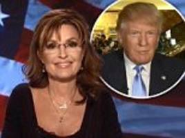 Could Trump be preparing to name a running mate who makes him look like a safe pair of hands? Rumors swill that Sarah Palin is in the frame - despite 2008 disaster