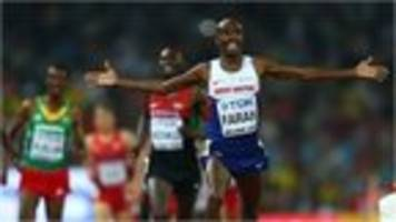 VIDEO: Farah completes historic double