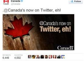 Oot and aboot on Twitter: How the first @Canada tweet came to be