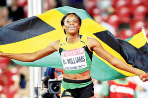 Jamaica's Danielle Williams wins women's 100m hurdles at Worlds