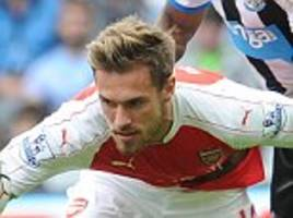Arsenal midfielder Aaron Ramsey tells the critics to judge the table after 10 games as he vows to be in the title race come May