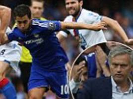 Eden Hazard and Cesc Fabregas in firing line as Chelsea boss Jose Mourinho warns he isn't afraid to sell underperforming stars