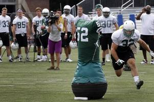 Dartmouth football introduces robotic tackling dummies to help curb concussions