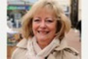 Ann Barnes causes a storm in her local - over a �5.75 glass...