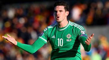 When Kyle Lafferty puts on a Northern Ireland shirt, he turns into Superman