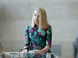 Yahoo got to be joking! Internet giant's CEO Marissa Mayer, 40, reveals she is pregnant with identical twins and says she may be back at work in just two weeks - despite giving staff 16 weeks maternity leave