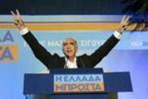 Greek opposition conservatives nudge ahead of Syriza: Poll
