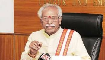 Bandaru Dattatreya appeals to the trade unions to reconsider their call for strike today