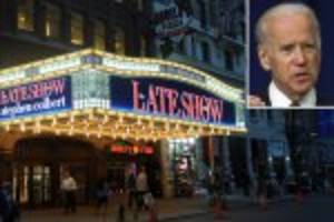 Joe Biden to appear on Colbert's 'Late Show' amid 2016 whispers
