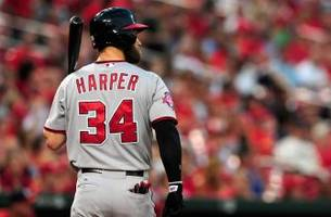 Harper's tight butt driving Nats nuts down playoff stretch