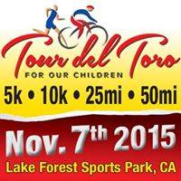 tour del toro run/ride to benefit lake forest boy's & girls club