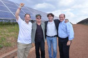 A Solar-Powered Nobel? U2's Bono Tours East Africa's First Solar Field as US Officials and One.org Promote Energy for Africa
