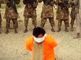 isis releases film featuring alleged slaughter of afghan soldier