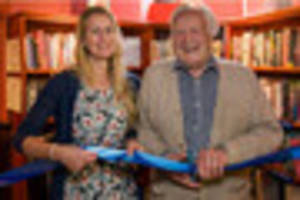 battle of britain hero geoffrey wellum opens new library at the...